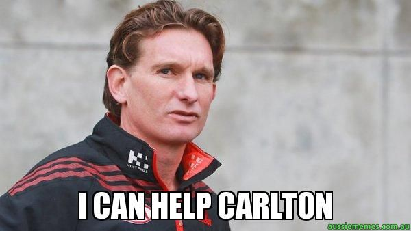 James Hird -  - I can help carlton