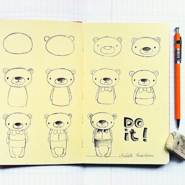 atelier terre de sienne: Vous dessinez ? Isabelle Kessedjian  A faire avec les enfants !