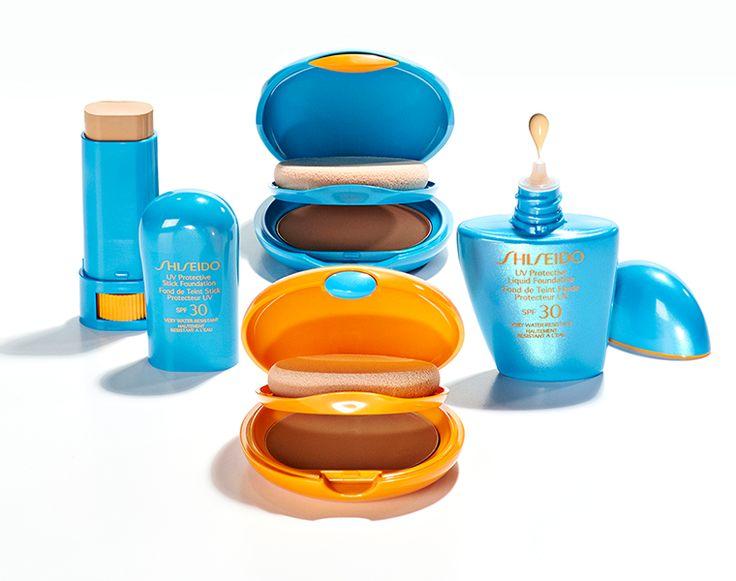 Resistono all'acqua, neutralizzano gli eccessi di sebo e proteggono a lungo la bellezza della pelle! http://www.shiseido.it/category/solari/