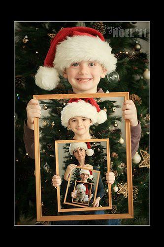 Such a cute idea for a Christmas card.