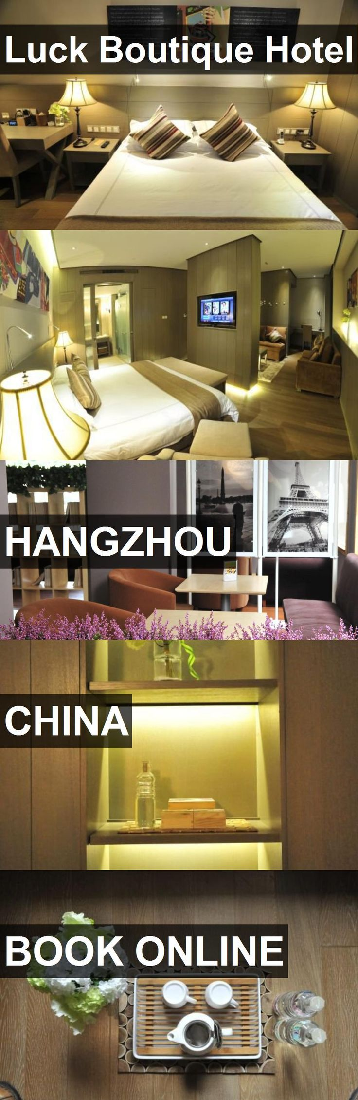 Luck Boutique Hotel in Hangzhou, China. For more information, photos, reviews and best prices please follow the link. #China #Hangzhou #travel #vacation #hotel