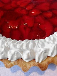 Viandas & Comidas Light: Tarta de frutillas Light!!!!