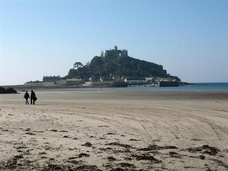 Saint Michael's Mount in Cornwall
