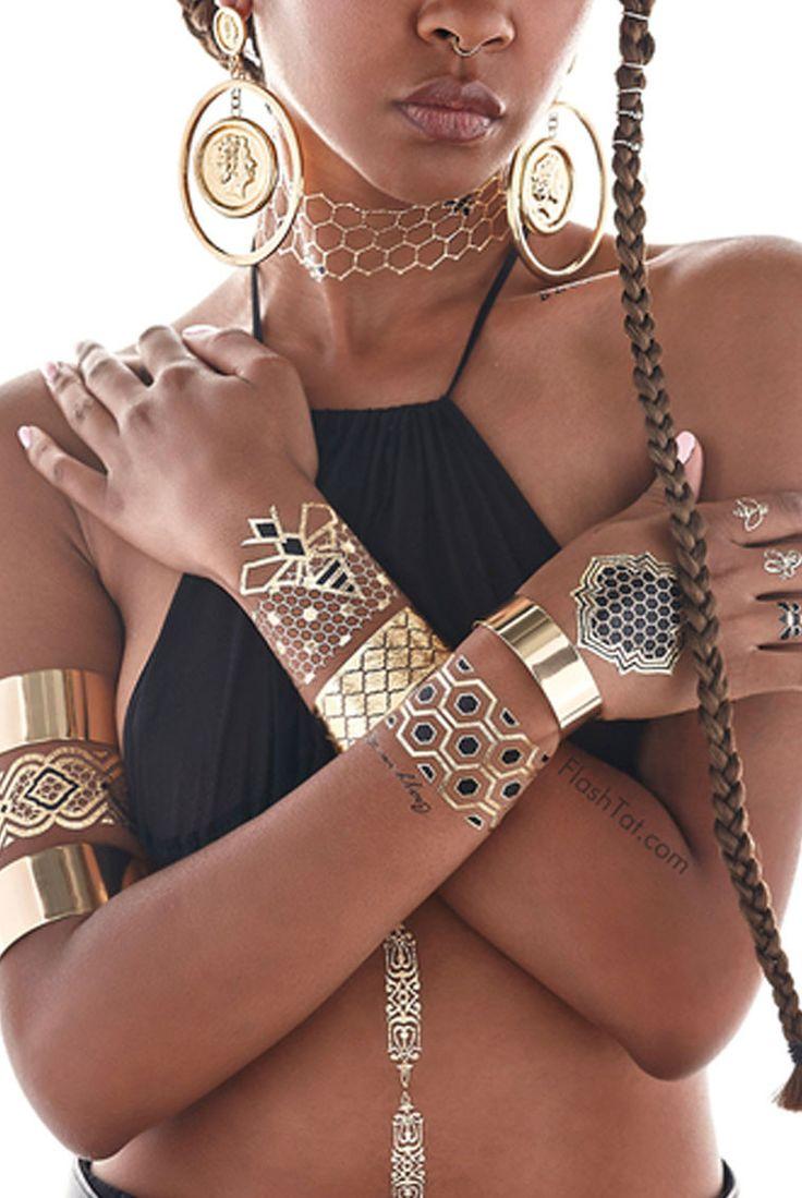 Beyonce x Flash Tattoos >> Shop now on stillandsea.com