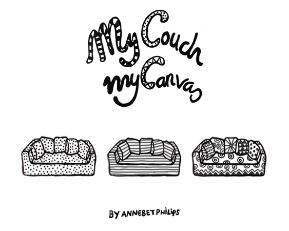 This project is about a couch that has no loose cushions. The cushions are integrated in the shape of the couch. The couch is a wooden/foam construction with the shape of the cushions integrated in the backrest/armrests. When designing the foam shape of the couch, various ways of sitting were taken into account, because it has to be comfortable for many kind of users. The cushions are constructed with firm support at the backside and with soft layering at the outside.