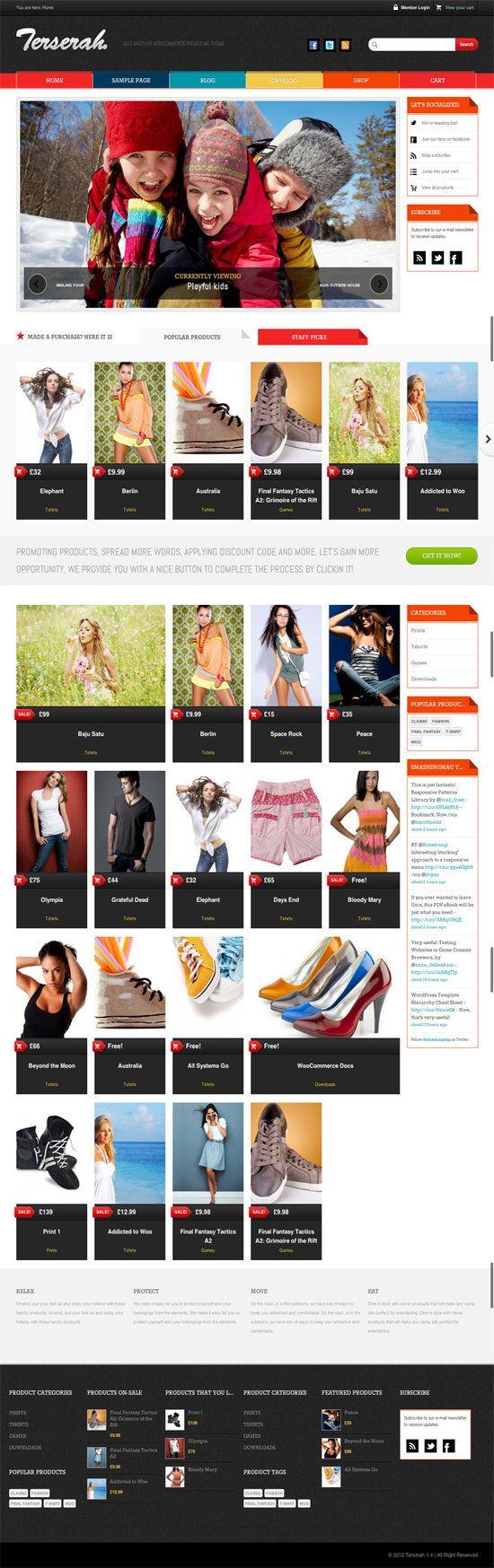 Terserah WooCommerce WordPress Theme By Tokokoo