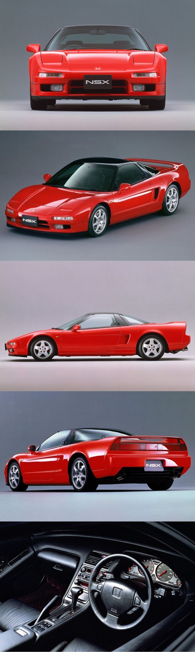 Honda's memories 1990 #Honda NSX / 290hp / red / Japan
