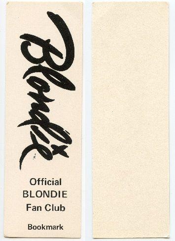 Blondie Fan Club