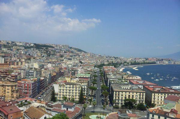 Dove scattare foto panoramiche a Napoli #allhqfashion http://www.allhqfashion.com/