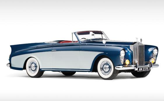 1958 Rolls-Royce Silver Cloud I Drophead Coupe by Freestone & Webb