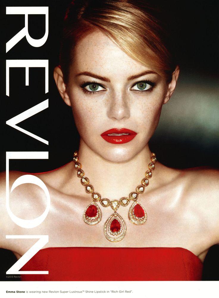 Emma Stone Revlon ad