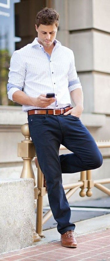 Confused between a business look and a casual look? Business casual is your treat!