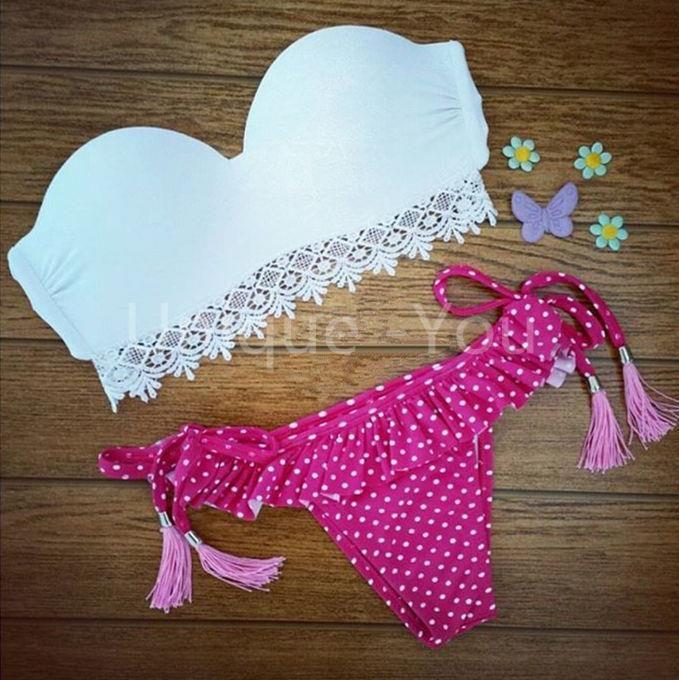 Encontrar Más Conjuntos de Bikinis Información acerca de 2015 nueva Sexy Summer estilo traje De baño Bikini triángulo neopreno bañadores Push Up Bathsuit brasileño Maillot De Bain B44, alta calidad Conjuntos de Bikinis de Unique -You en Aliexpress.com
