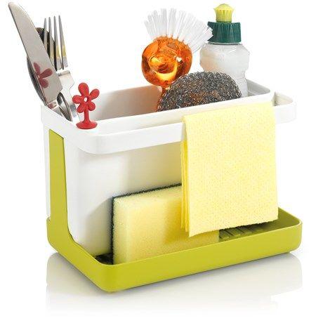 <p>Praktiskt ställ för diskmedel, diskborste, disksvamp ...</p>