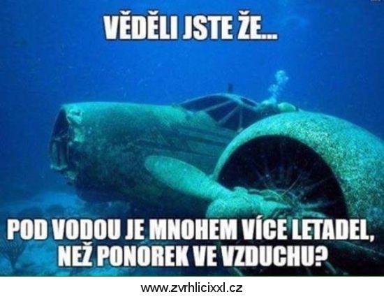 Letadla a ponorky – Zvrhlíci XXL – Bez cenzury