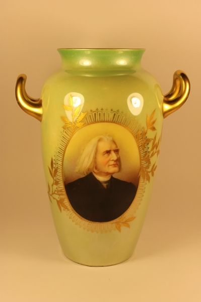 "350.00 EUR Фарфоровая ваза ""Rosenthal"" Franz Liszt, Hungarian composer"