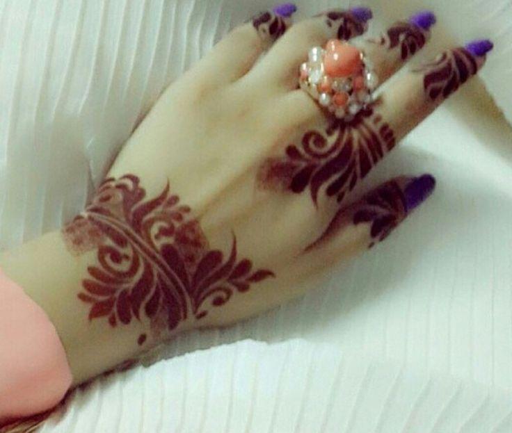 Pin By Ayesha Munam On Heena Designs نقش حنة Henna Tattoo Designs Finger Henna Unique Mehndi Designs