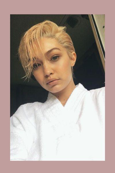 Und weg ist das engelhafte Haar! Auf Instagram zeigte sich Gigi Hadid mit wilder Kurzhaarfrisur – hinten kurz, vorne lang – und spaltete damit ihre Fan-Gemeinde.