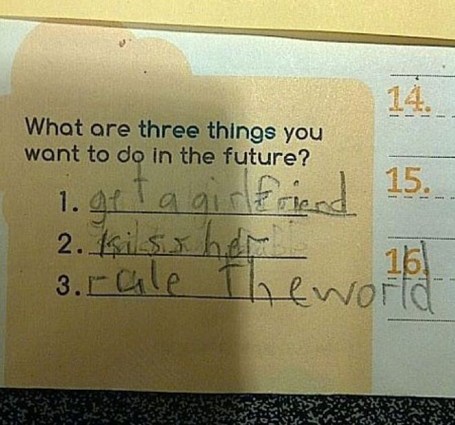 Is it ok that: Kids Actually Gave These Answers on Their Test Papers?