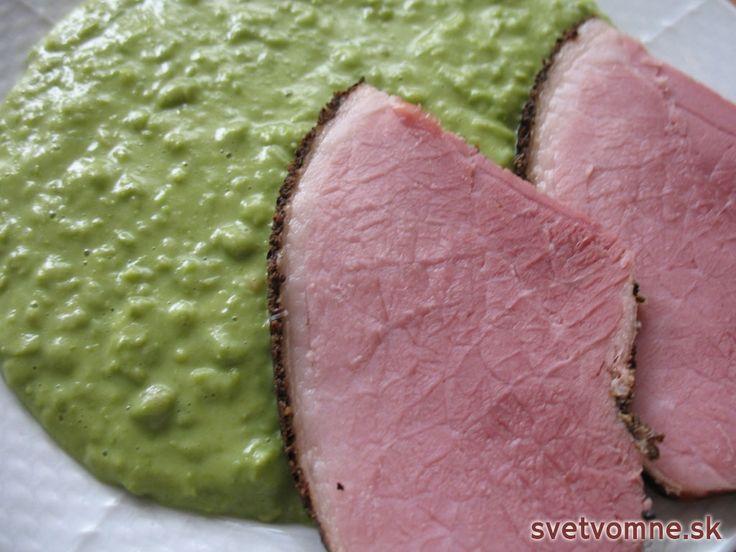 Jednoducho a ľahko pripravený chutný obed s obľúbeným údeným mäsom.