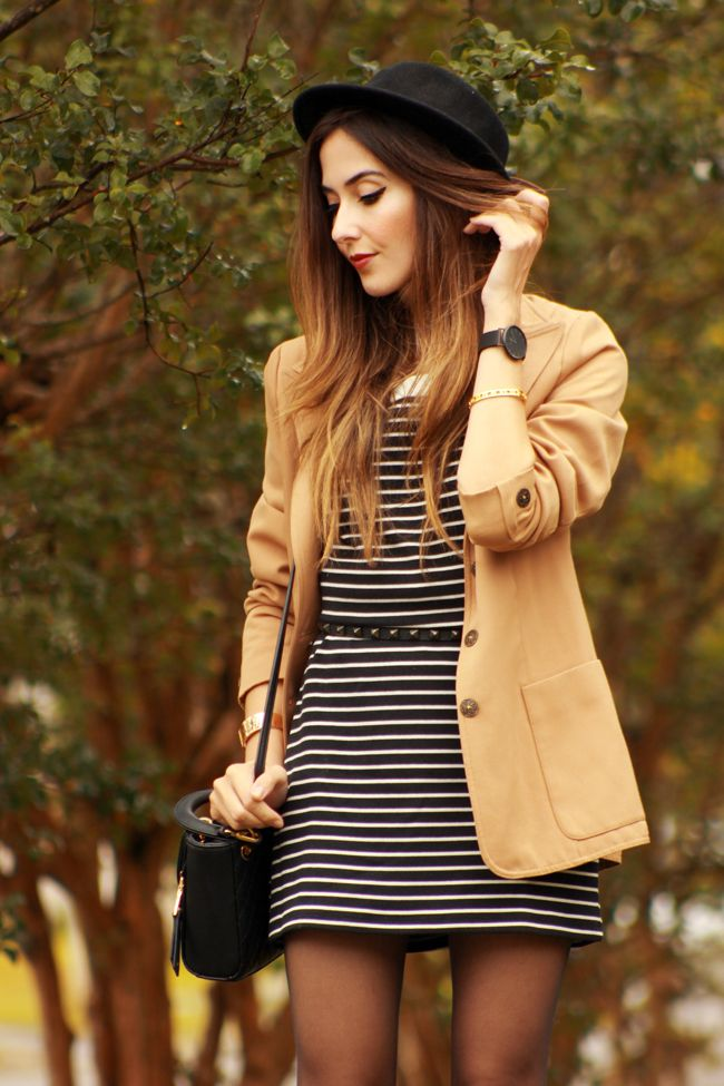 FashionCoolture - 02.12.2015 look du jour Slywear striped dress(2)