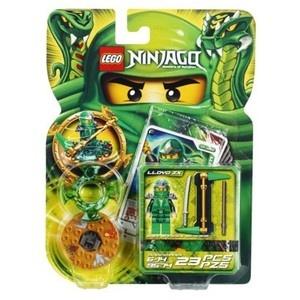 Lego Ninjago Set 9574 Lloyd ZX Green Ninja Spinner Minifigure New | eBay