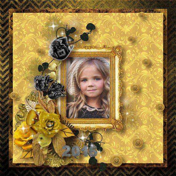 Happy Gothic New Dear by Perline Design Photo de Frosted Permissions  http://www.mymemories.com/store/designers/PerlineDesign…  http://sensibilityscrapping.com/index.php…