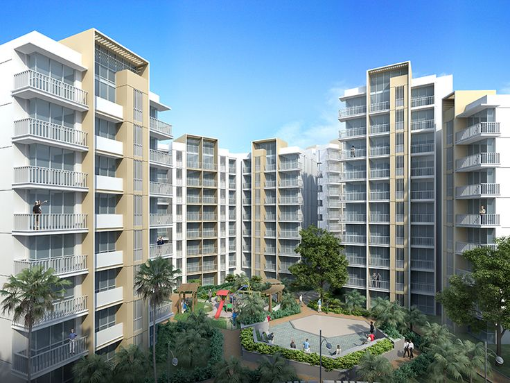 Experience the serenity of quality living amidst the plush green spaces. #AhujaPrasadam:  bit.ly/1ZEelPt