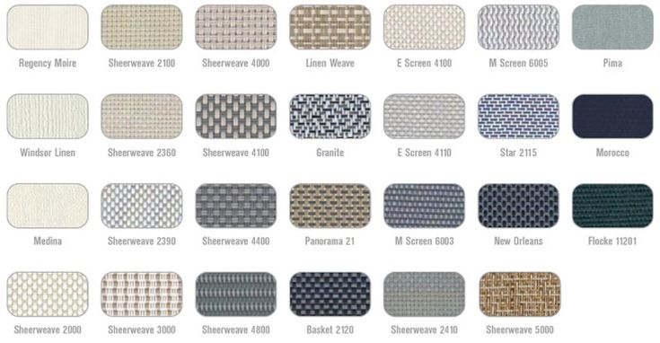 Types of upholstery fabric