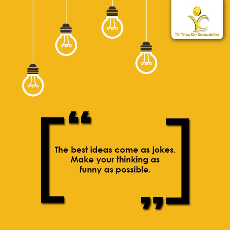 """""""The best ideas come as jokes. Make your thinking as funny as possible."""" -David Ogilvy #Marketing #Branding #DigitalMarketing"""