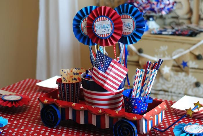 68 best patriotic picnic party ideas images on pinterest for 4th of july party ideas for adults
