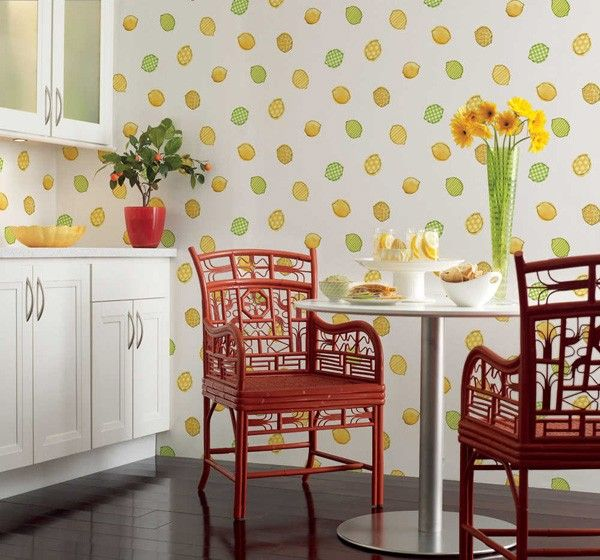 19 Budget Friendly Kitchen Makeover Ideas: Best 25+ Kitchen Wallpaper Ideas On Pinterest