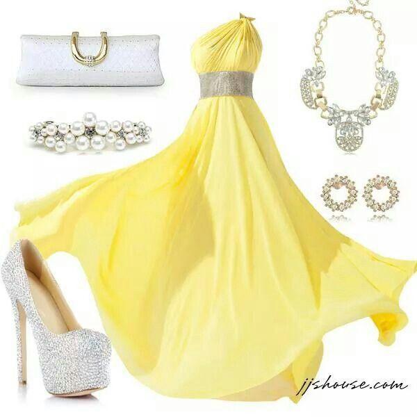 Divino el color amarillo y plata