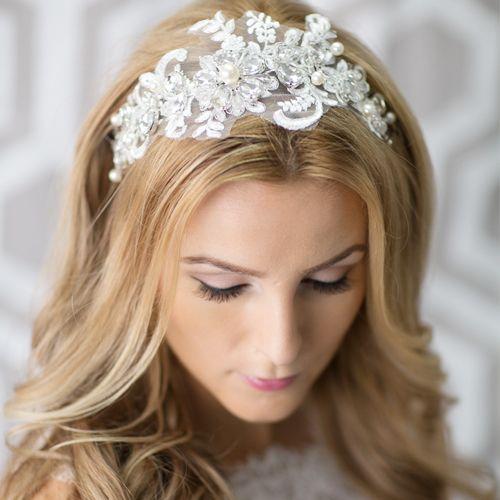1000+ images about headband bride on Pinterest | Vintage ... - photo #27