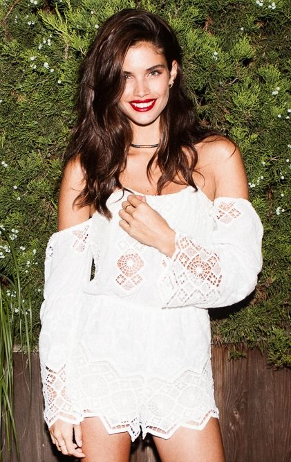 After dark with Sara Sampaio