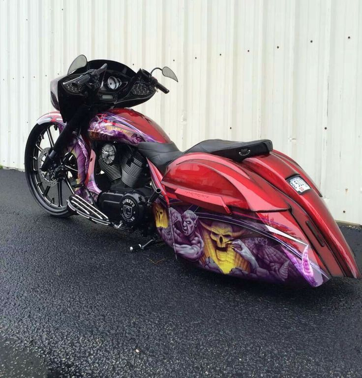 Custom Victory Motorcycle XC