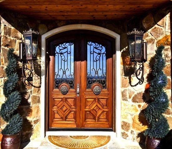 Mediterranean Style Front Doors: 95 Best Front Doors Images On Pinterest
