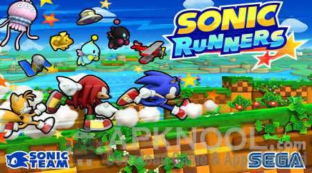 Sonic Runners With MOD APK 2.0.3