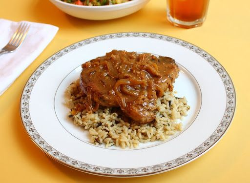 Paleo Chef John's Smothered Pork Chops
