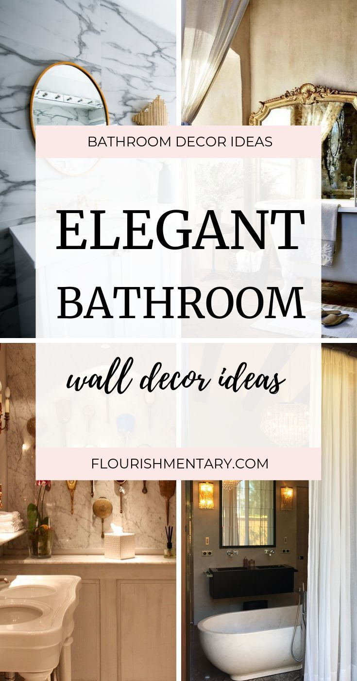 Bathroom Wall Decor Ideas Bath Laundry Wall Decor 2021 Bathroom Wall Decor Elegant Bathroom Bathroom Wall