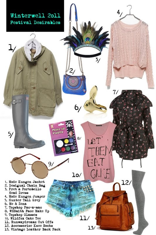 Festival Outfit builder