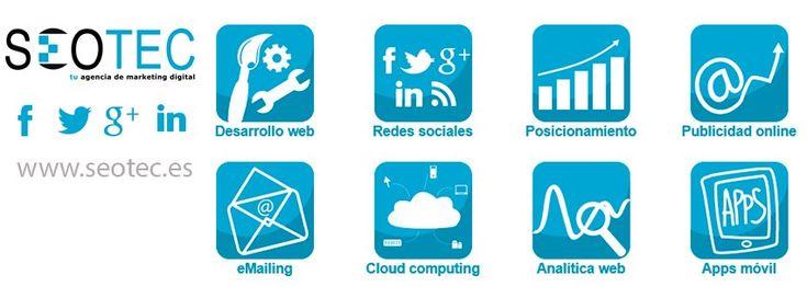 Marketing Digital y Gestión personalizada de servicios digitales como Aplicaciones en la Nube o SmartPhones. Realizamos campañas de Posicionamiento Web en Buscadores, Gestión y administración de Redes Sociales, Promoción a través de Publicidad Online, creación de campañas de eMailing (Marketing Directo) y seguimiento y mejora del negocio a través de Analítica Web profesional. Estamos especializados en el Desarrollo y Diseño de Páginas Web de calidad a precios económicos. Estamos en Bilbao