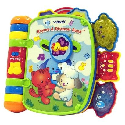 Vtech Musical Rhymes Book In 2021 Baby Developmental Toys Baby Toddler Toys Toys For Boys
