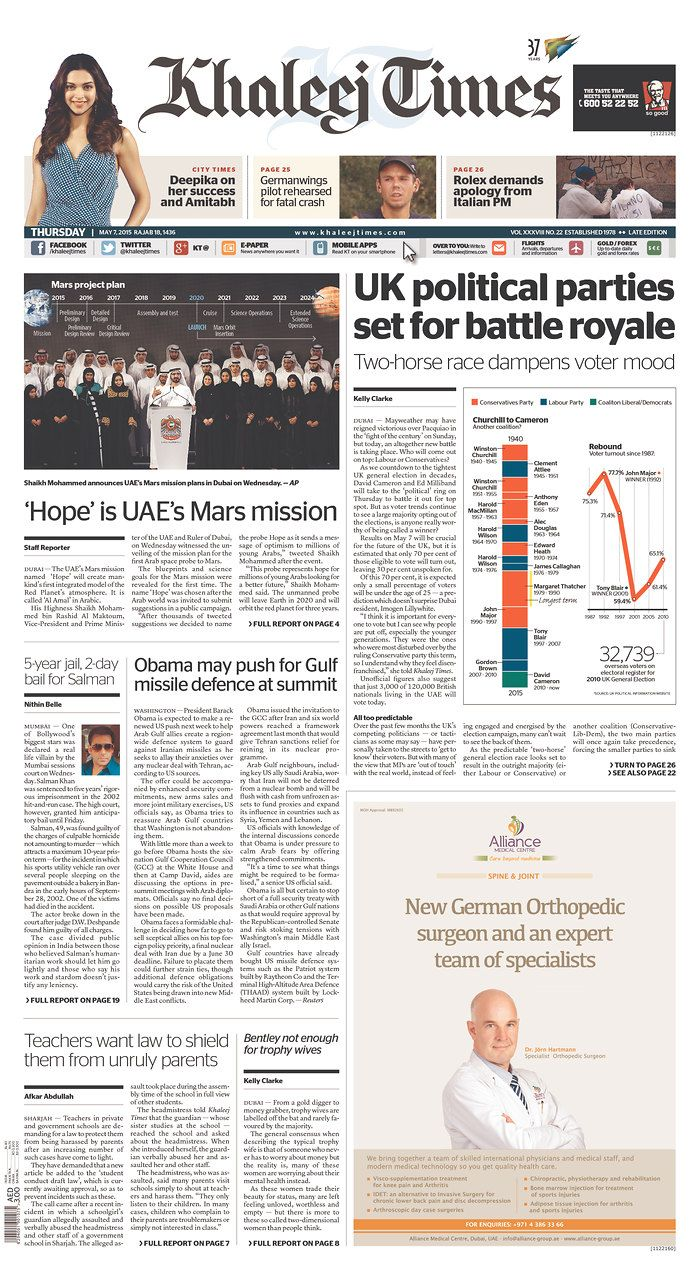 Today's Front Pages | Newseum