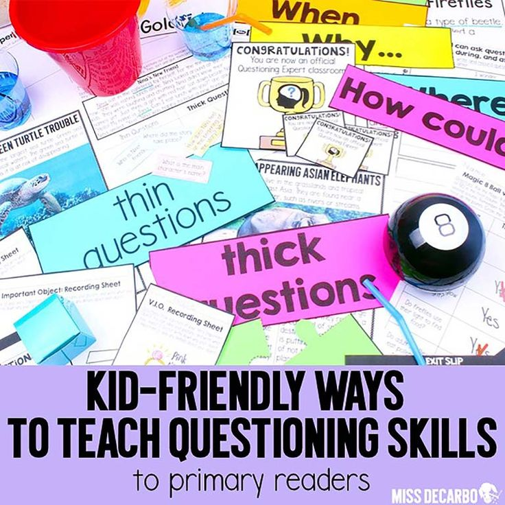 Learn how to teach questioning to primary readers in an engaging, hands-on way with concrete materials and detailed lesson plans! A freebie is included.