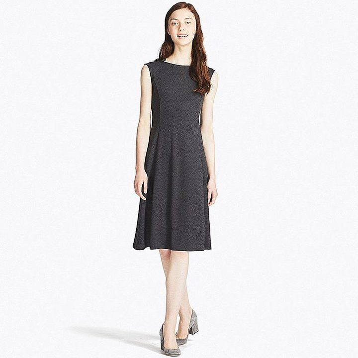 Uniqlo Women's Lightweight Ponte Sleeveless Dress