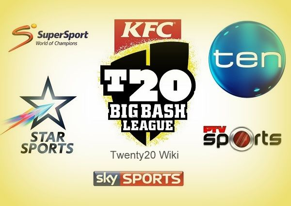 Find list of tv channels which will telecast big bash. #bigbash #cricket #bbl06