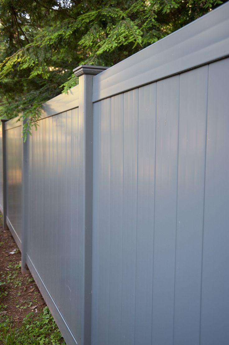 Best 25 Vinyl Privacy Fence Ideas On Pinterest White
