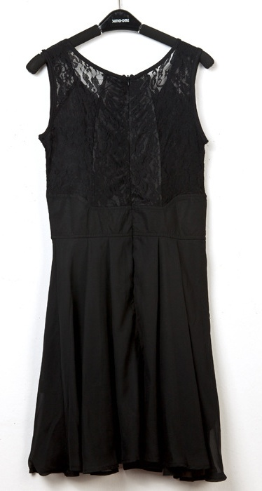 Korean lace Sleeveless dress - Repin, Like, Follow, Comment to win.