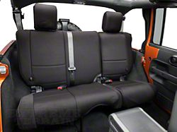Rugged Ridge Neoprene Rear Seat Cover Black 07 16 Wrangler JK 4 Door